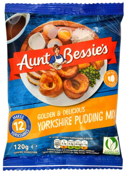 Aunt Bessies Yorkshire Pudding Mix 120g