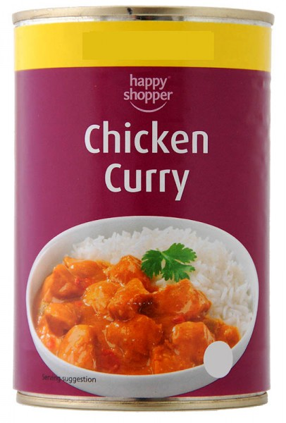 Happy Shopper Chicken Curry 392g