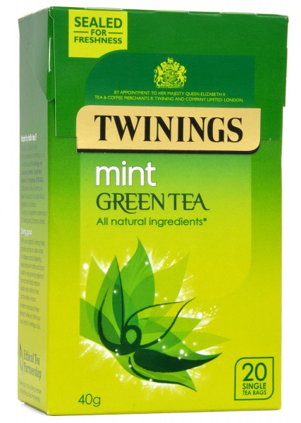Twinings Mint Green Tea - Grüner Tee mit Minze 20 Beutel