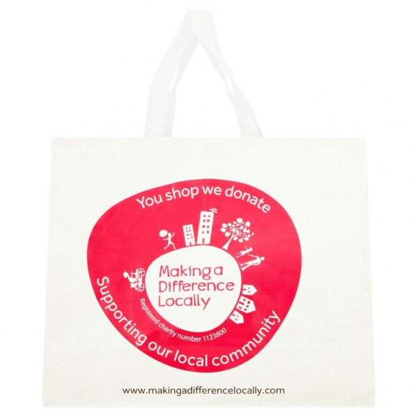 Making A Difference Locally Woven Carrier Bag