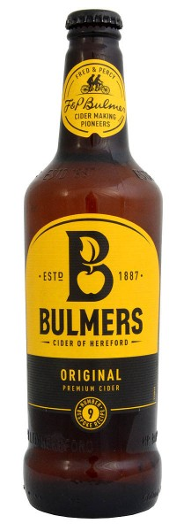 Bulmers Original Cider Bottle, Pack 6 x 500ml