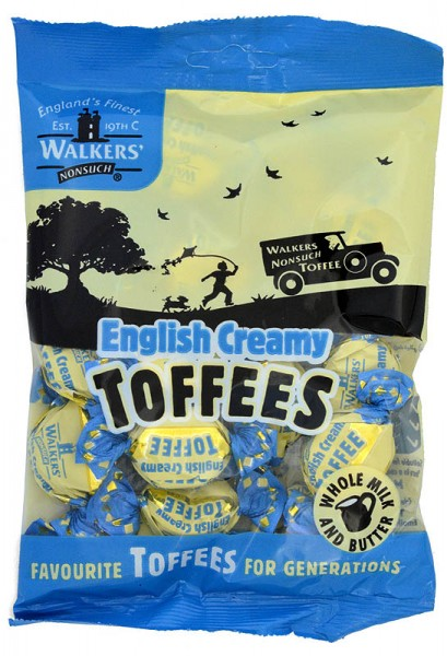 Walkers` Nonsuch English Creamy Toffees 150g