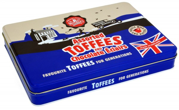 Walkers Nonsuch Toffee Assorted Tin 700g