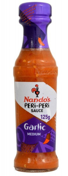 Nandos Garlic Peri-Peri Sauce 125ml