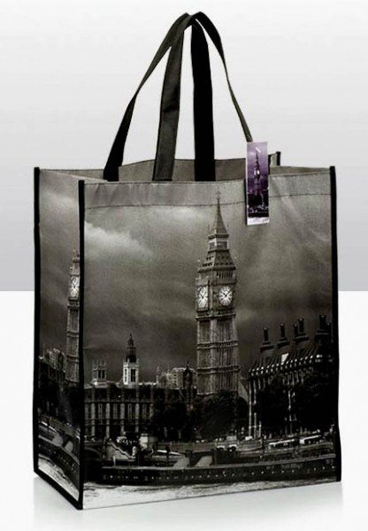 Big Ben at Night Shopping Bag