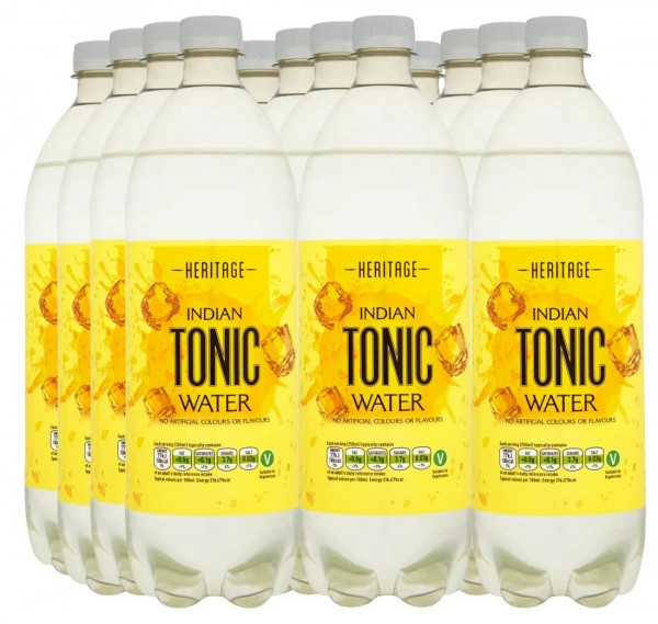 Heritage Indian Tonic Water 12 x 1 Liter