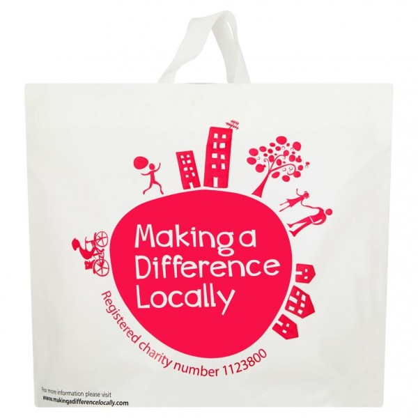 Making A Difference Locally Flexiloop Carrier Bag