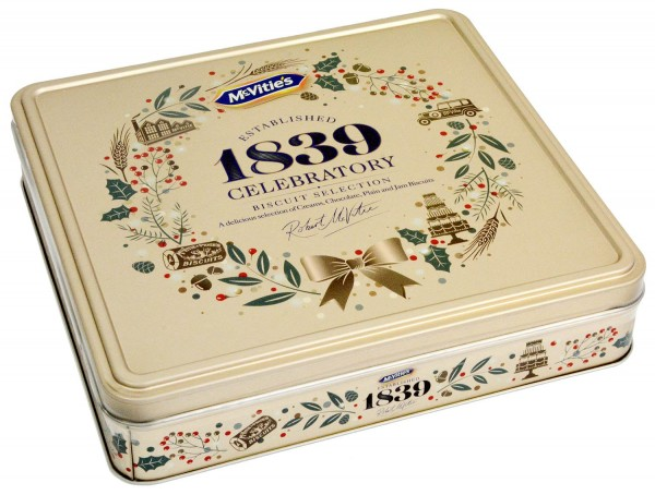 McVities Heritage Biscuit Selection Tin 400g