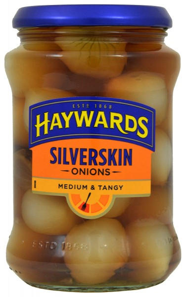 Haywards Medium Silverskin Onions 400g