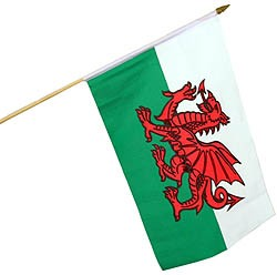Wales Large Handwaving Flag
