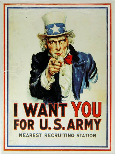 Magnet ´I Want You For U.S.Army´