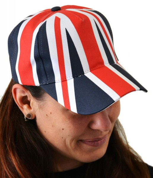 Union Jack All Over Print Baseball Cap