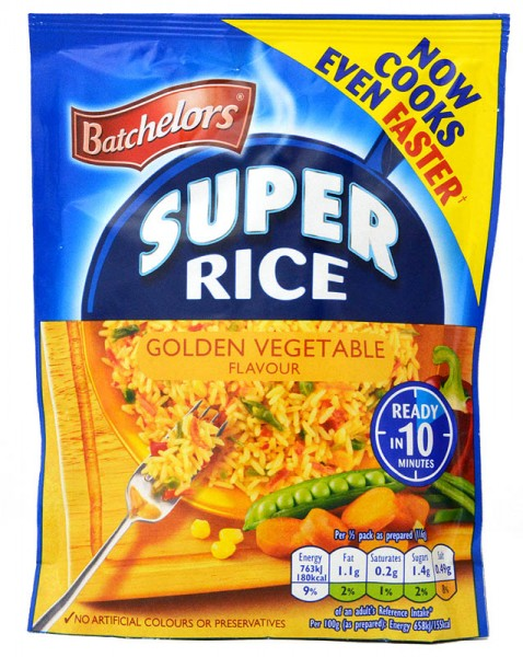 Batchelors Savoury Super Rice Golden Vegetable
