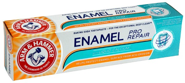 Arm & Hammer Enamel Pro Repair Baking Soda Toothpaste 75ml