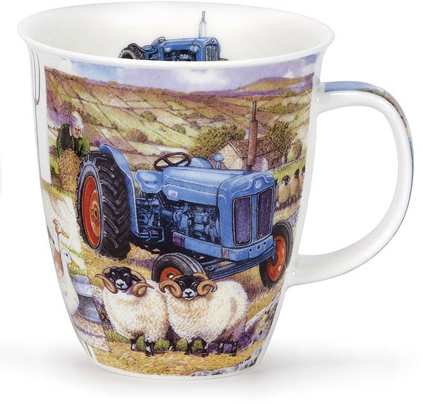 Dunoon Nevis Farm Tractors Blue