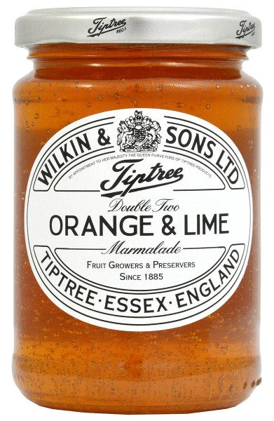 Wilkin & Sons Orange & Lime ´Double Two´ - Orange & Limette