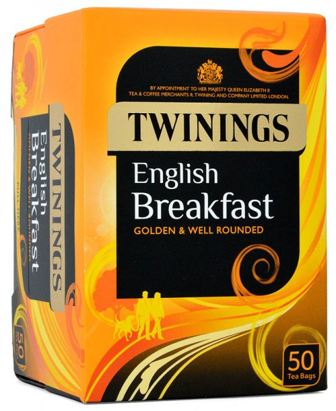 Twinings English Breakfast 50 Beutel