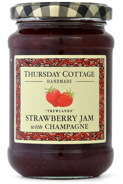 Thursday Cottage Strawberry Jam with Champagne 340g