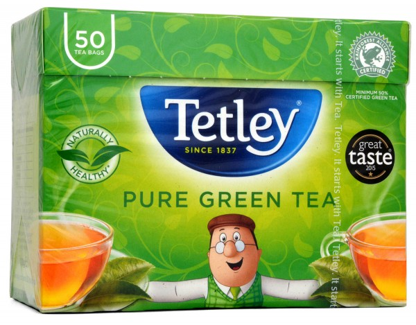 Tetley Pure Green Tea 50 Teabags