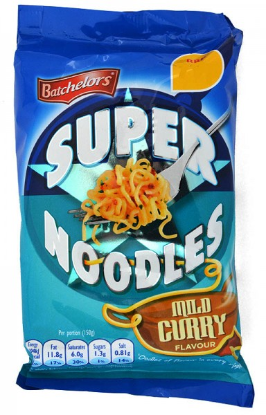 Batchelors Super Noodles Curry Flavour