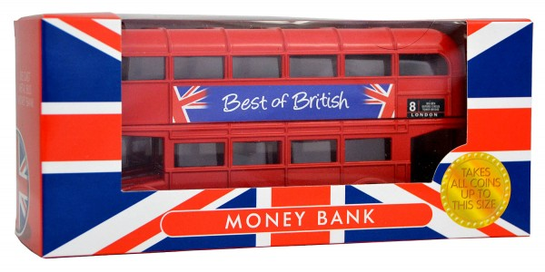 Routemaster London Bus Money Box