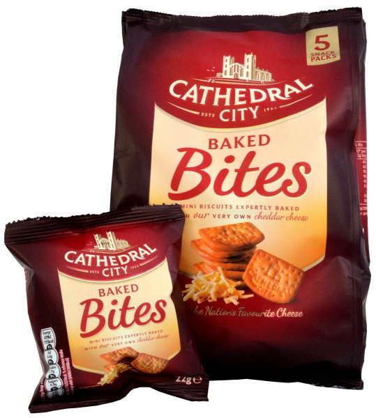 Cathedral City Baked Bites 5 x 22g