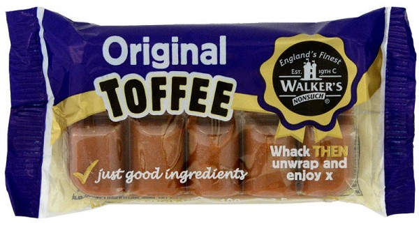 Walkers´ Nonsuch Toffee Original