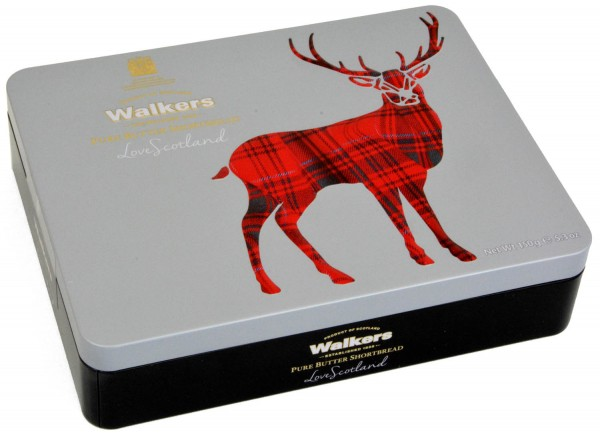Walkers Love Scotland Tin Stag 150g