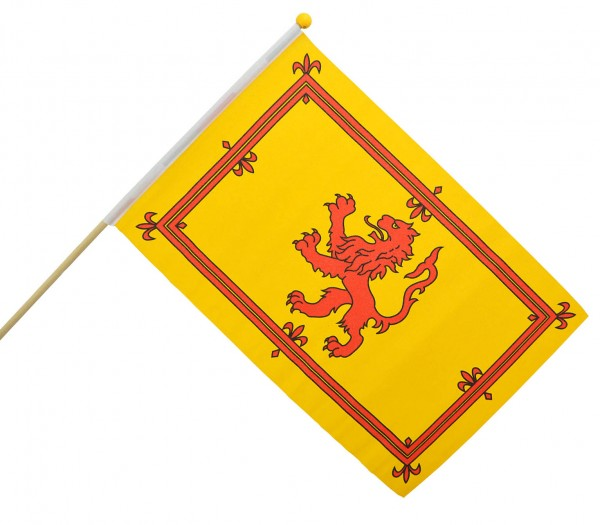 Scottish Lion Large Handwaving Flag