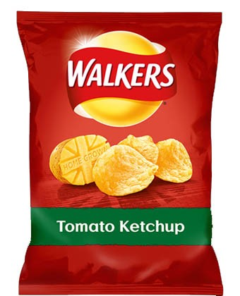 Walkers Tomato Ketchup, Tüte 32,5 g