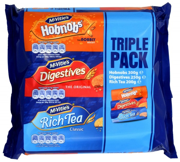 McVities Triple Pack 750g