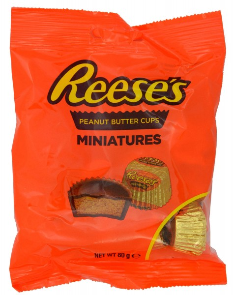 Reeses Peanut Butter Cups Miniatures 80g