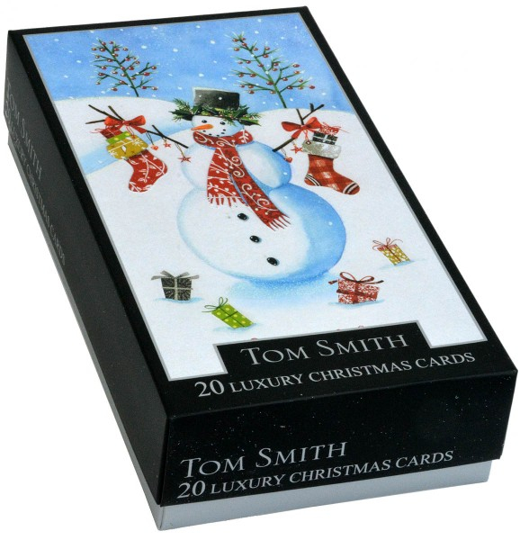 20 Tom Smith Christmas Cards Characters