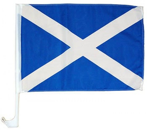 Scotland St. Andrews Cross Car Flag