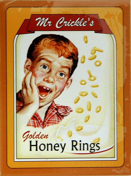 Magnet ´Mr Crickle´s Golden Honey Rings´