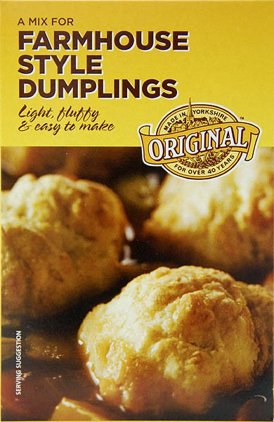 Goldenfry Farmhouse Style Dumplings Mix