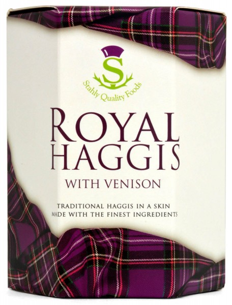 Stahly Royal Haggis with Venison 410g