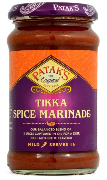 Pataks Tikka Spice Marinade 283g Curry Paste