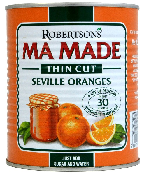 Robertsons MaMade Orange Thin Cut