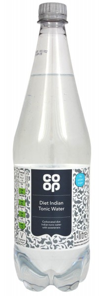 Co-op Diet Indian Tonic Water 1 Liter