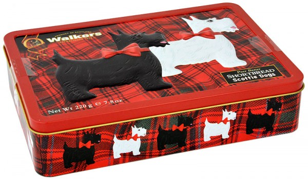Walkers Shortbread Scottie & Westie Tin