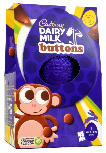 Cadbury Medium Buttons Egg