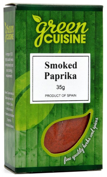 Green Cuisine Smoked Paprika 35g