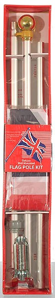 Union Jack Boxed Flag Set