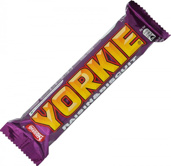 Nestlé Yorkie Milk Chocolate with Raisin and Biscuit