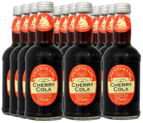 Fentimans Cherry Cola 275ml, 12er-Tray