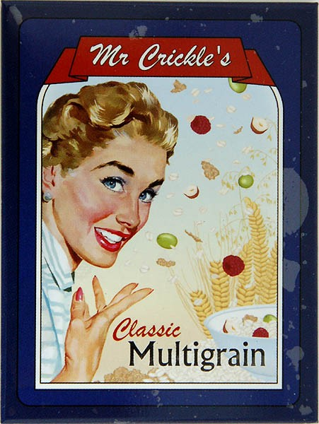 Magnet ´Mr Crickle´s Classic Multigrain´