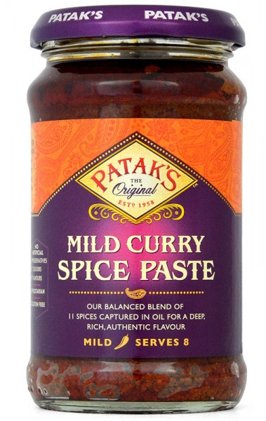 Pataks Mild Curry Spice Paste 283g