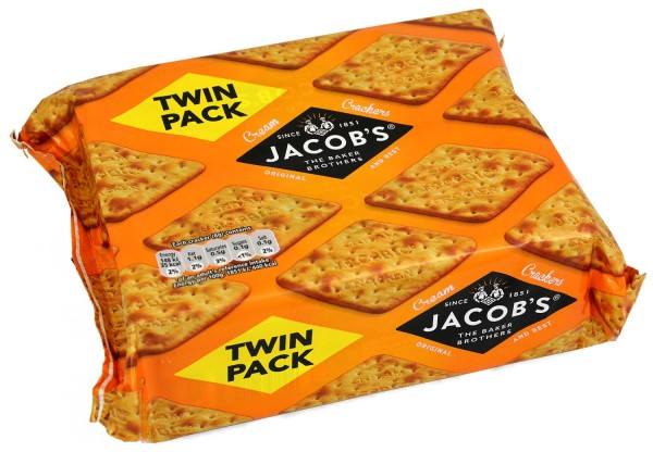Jacobs Cream Crackers 2 x 200g Twin Pack