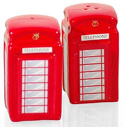 Cruet Set Telephone Box